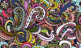 Abstract zentangle background, sketch for your design Stock Photo