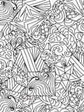 Abstract zentangle Royalty Free Stock Image