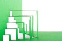 abstract zielonego składu papier Obrazy Royalty Free