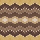 Abstract zig zag design in wood material with various colors, background and texture. Backdrop for design and decoration ads with wood texture, architecture and stock illustration