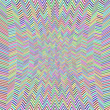 Abstract Zig Zag Pattern Stock Image