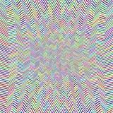 Abstract Zig Zag Pattern Stock Image