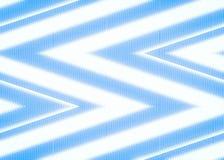 Abstract zigzag blue shiny Stock Image