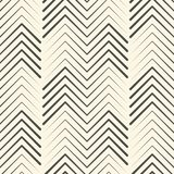 Abstract Zigzag Ornament. Endless Chevron Wallpaper. Vector Graphic Design Royalty Free Stock Photo