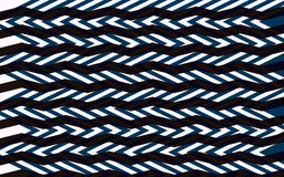 Abstract zigzag pattern Royalty Free Stock Photography