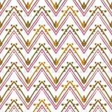 Abstract zigzagpatroon voor dekkingsontwerp Royalty-vrije Stock Foto