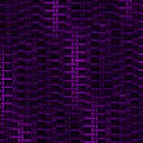 Abstract zipper pattern purple black vertically and dimensional Stock Images