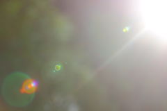 Abstract Zonlicht Stock Afbeeldingen