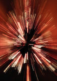 Abstract Zoomed Christmas Tree Royalty Free Stock Image