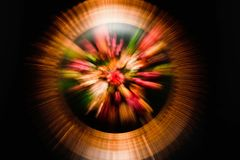 Abstract zooming pattern. In movement Royalty Free Stock Photography
