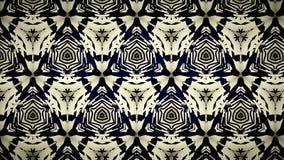 Abstract zwart geel en blauw lijnbehang Royalty-vrije Stock Fotografie