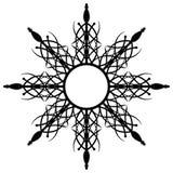 Abstract zwart toestel Stock Afbeeldingen
