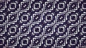 Abstract zwart-wit geometrisch patroon Stock Foto's