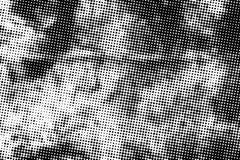 Abstract zwart-wit halftone patroon Royalty-vrije Stock Afbeelding
