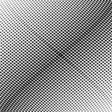 Abstract zwart-wit halftone patroon De vectorillustratie van het ontwerpmalplaatje met punten Moderne gestippelde achtergrond voo Stock Afbeelding