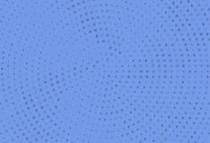 Abstract zwart-wit halftone patroon Futuristisch Comité Grunge gestippelde achtergrond met cirkels, punten, punt Stock Illustratie