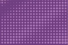 Abstract zwart-wit halftone patroon Grappige achtergrond Gestippelde achtergrond met cirkels, punten, punt Purpere, lilac kleur Royalty-vrije Stock Foto
