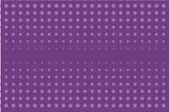 Abstract zwart-wit halftone patroon Grappige achtergrond Gestippelde achtergrond met cirkels, punten, punt Purpere, lilac kleur Stock Foto's