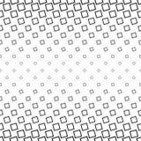 Abstract zwart-wit hoekig vierkant patroon stock illustratie