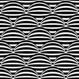 Abstract zwart-wit naadloos patroon Stock Foto's
