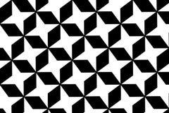 Abstract zwart-wit patroonontwerp voor achtergrond Royalty-vrije Stock Afbeeldingen