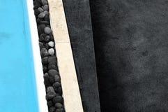 Abstract zwembadbeeld   stock afbeelding