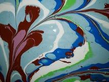 Abstractart-Farbe Lizenzfreies Stockbild