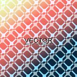 AbstractBackground13. Repeating geometric pattern on the colored background. Vector illustration Royalty Free Stock Photos
