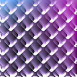AbstractBackground11. Repeating geometric pattern on the purple background. Vector illustration Stock Photography