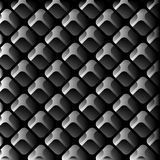AbstractBackground12. Repeating gray squares on the black background. Vector illustration Royalty Free Stock Images