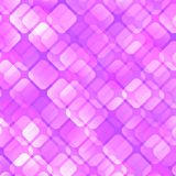 AbstractBackground14. Repeating transparent squares on the pink background. Vector illustration Stock Photo