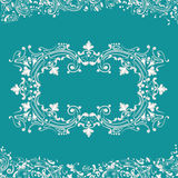 Abstractbackground, swirling decorative pattern frame Stock Photos