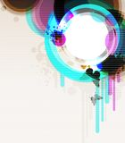 abstractcontemporary tło Obraz Royalty Free