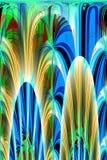 Abstracte 3D Achtergrond Royalty-vrije Stock Afbeeldingen