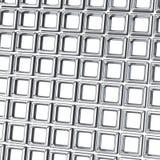 Abstracte 3d achtergrond - muur van kubussen stock illustratie