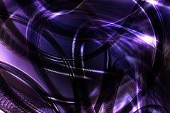 Abstracte 3D blauwe achtergrond Stock Afbeeldingen