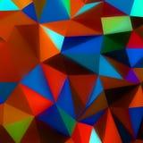 Abstracte 3d geometrische lijnen moderne grunge. EPS 8 Stock Foto's