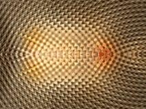 Abstracte 3d illusie vector illustratie