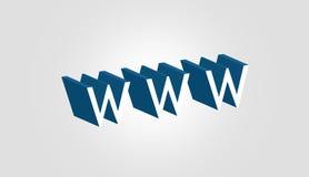 Abstracte 3d tekst Stock Foto