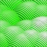 Abstracte 3d vector groene bergen als achtergrond Stock Fotografie
