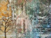Abstracte aardachtergrond Stock Fotografie