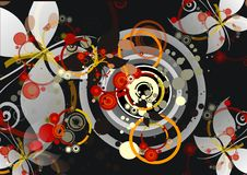 Abstracte achtergrond Stock Foto