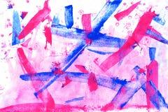 abstracte achtergrond acryl Stock Fotografie
