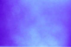 Abstracte achtergrond blauwe bokehcirkels Stock Foto