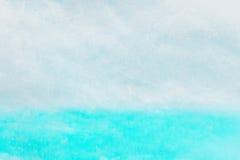 Abstracte achtergrond in blauwe en witte kleuren Stock Fotografie