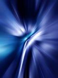 Abstracte achtergrond in blauwe kleuren Stock Afbeeldingen