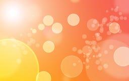 Abstracte Achtergrond Bokeh Stock Fotografie