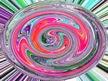 abstracte achtergrond Bol royalty-vrije illustratie