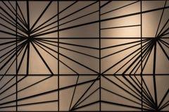 Abstracte achtergrond in complexe lijn Royalty-vrije Stock Fotografie