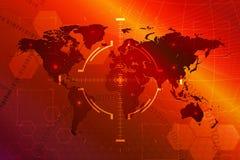 Abstracte achtergrond, concept wereld Stock Foto's